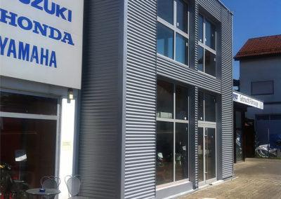 Anbau eines Industriegebäudes 11