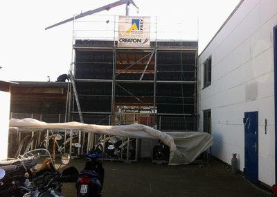 Anbau eines Industriegebäudes 7