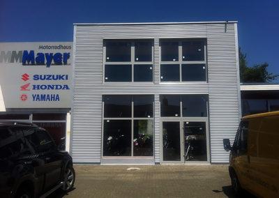 Anbau eines Industriegebäudes 8