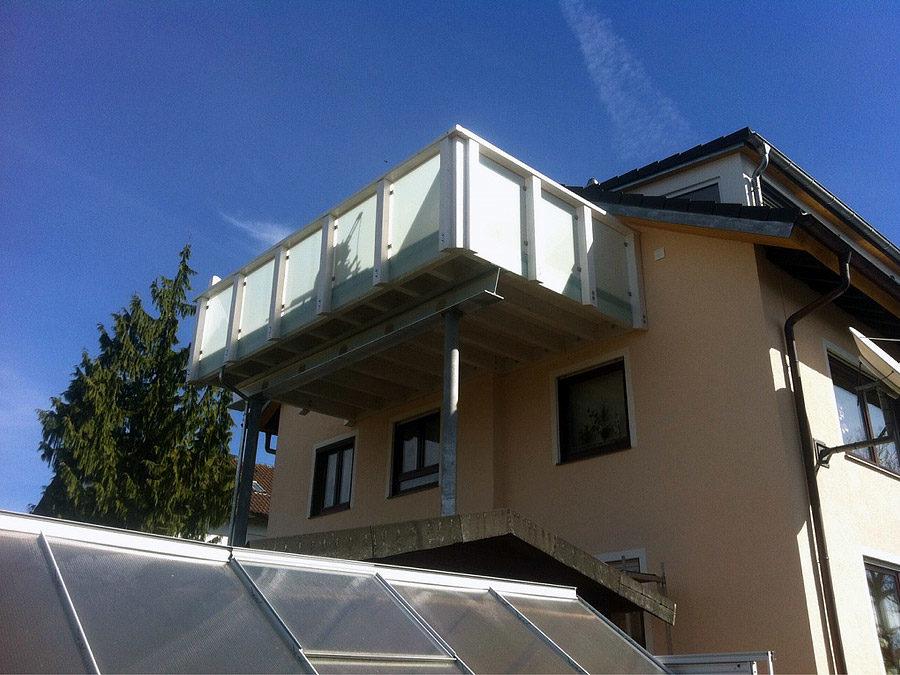 Balkonfertigung und Montage
