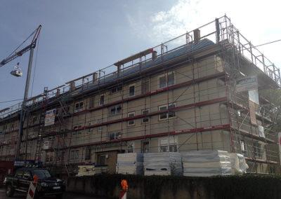 Dachsanierung eines Mehrfamilienhaus in Stuttgart (ca. 750m²)