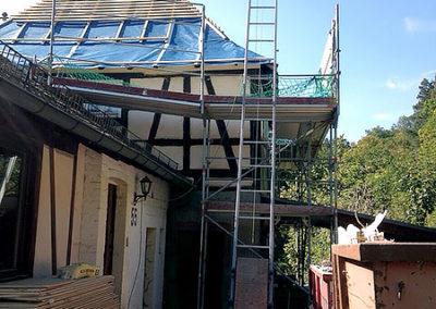 Komplette Dachsanierung 1
