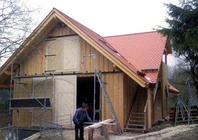 Landwirtschaftl. Gebäude (Fachwerkkonstruktion)