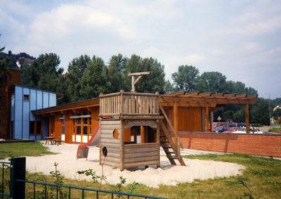 Neubau des Kindergarten in Waldhausen