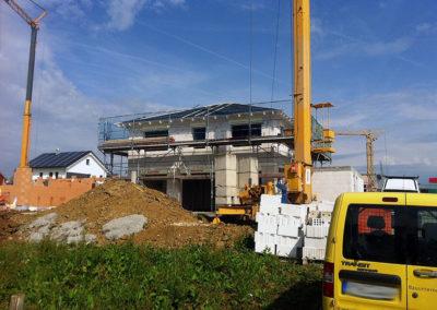 Neubau eines Einfamilienhauses 1