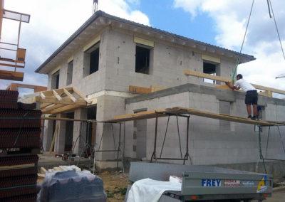 Neubau eines Einfamilienhauses 12