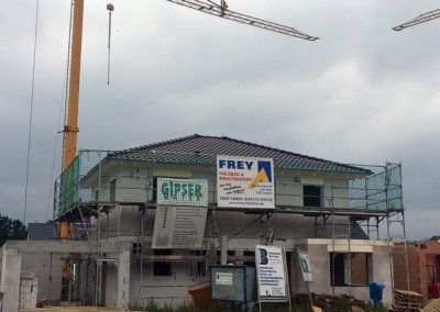 Neubau eines Einfamilienhauses 3
