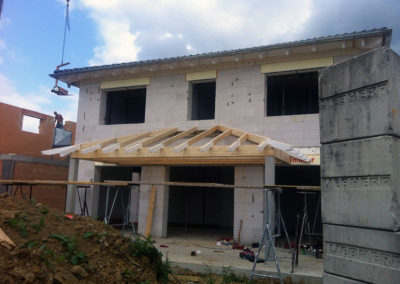 Neubau eines Einfamilienhauses 9
