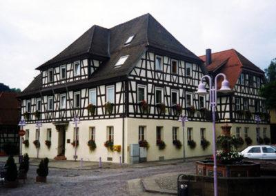 Sanierung des Lorcher Rathauses 1