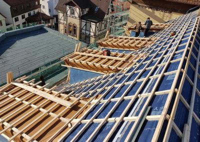 Umbau mit Dachsanierung der Harmonie in Lorch