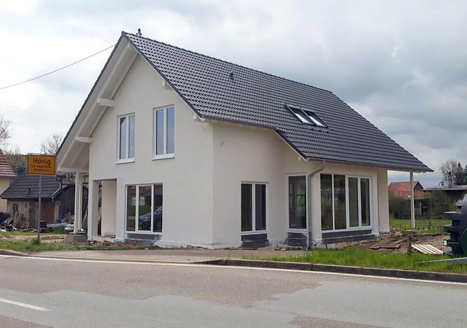 Neubau Kompletthaus nach KFW 70